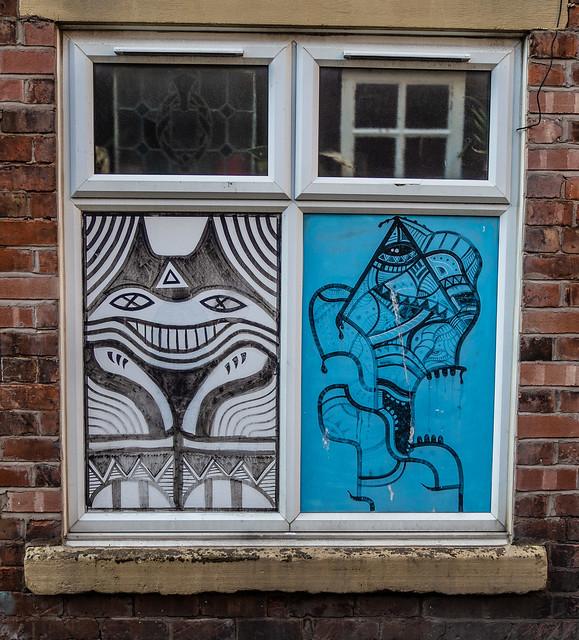 Blackpool street art. . .