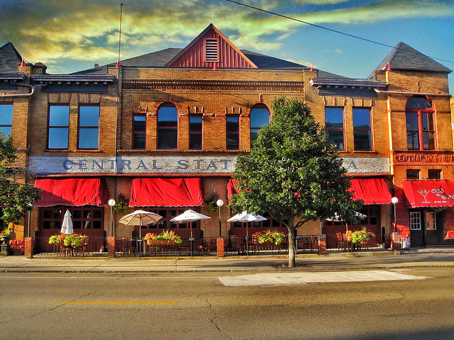 Bloomington  Illinois  ~ Station 220 (formerly Central Station Cafe`) ~ Historic