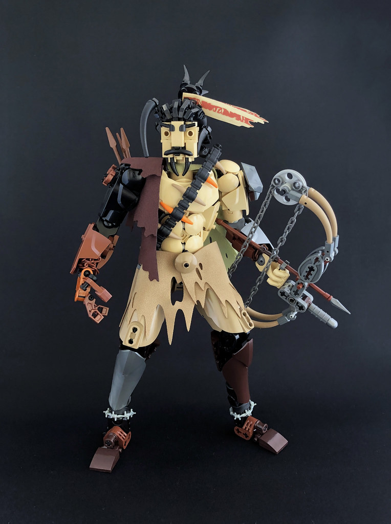 Junkertown Hanzo (custom built Lego model)