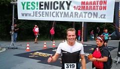 Jesenický maraton: Čípa všem utekl o parník
