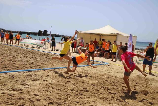 Torneo de Balonmano Playa Arrecife 2019