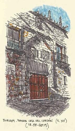 Burgos. Casa del Cordón