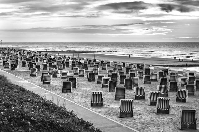 Strandkörbe Wangerooge