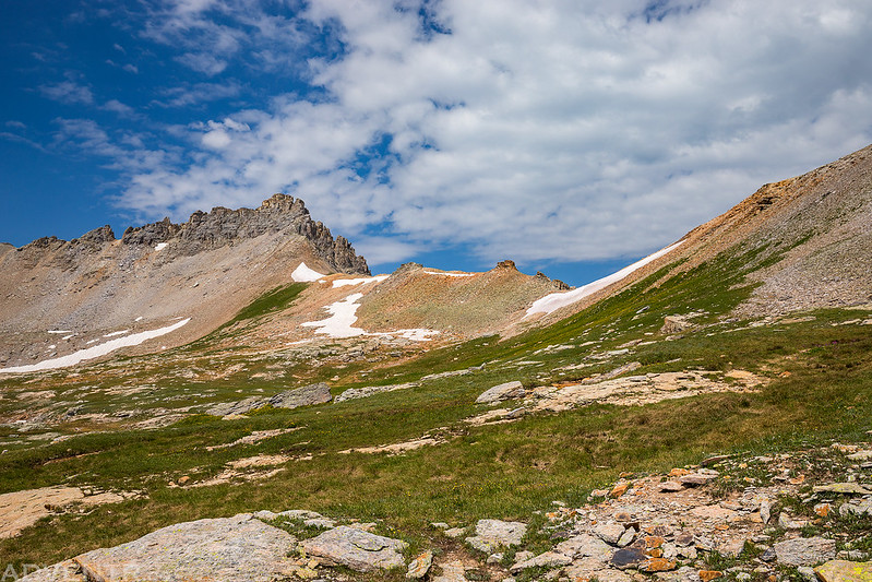 Mud Lake Basin Saddle
