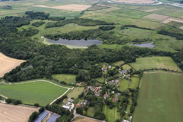 Upton Broad & Cargate Green - Norfolk aerial