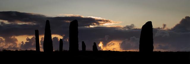 Ring of Brodgar Sunset