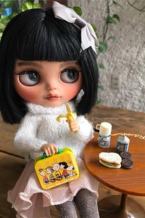 Blythe custom -Alice prepares to return to classes :(
