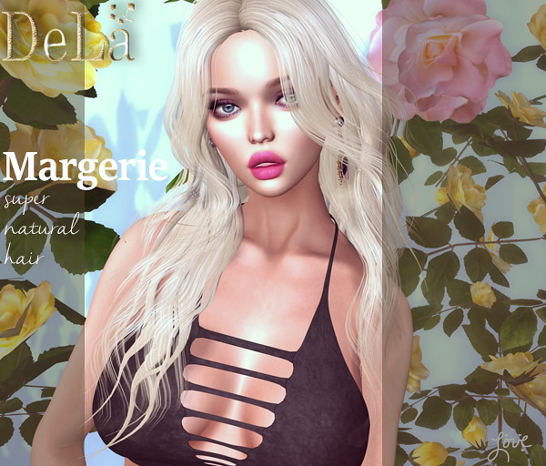 "=DeLa*= new hair ""Margerie"""