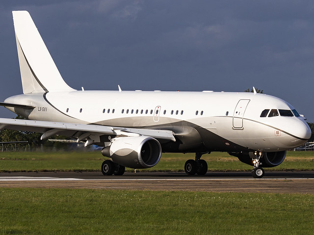 Global Jet Luxembourg | Airbus ACJ319 | LX-GVV