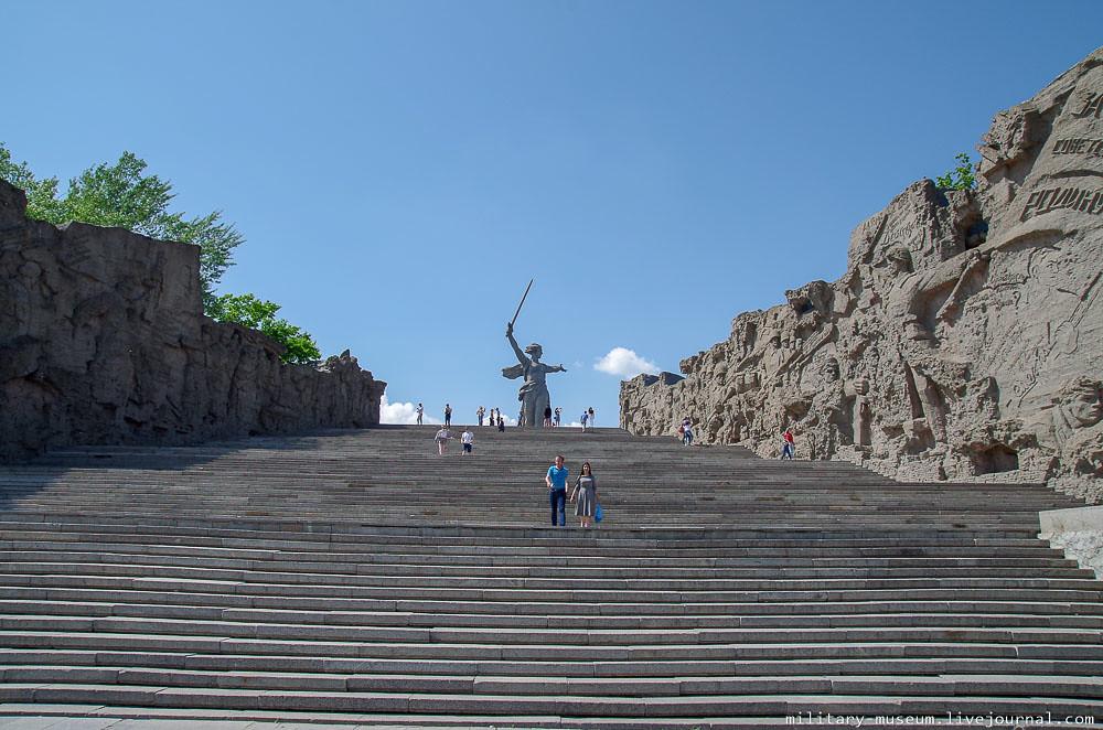 Мамаев курган в Волгограде-26