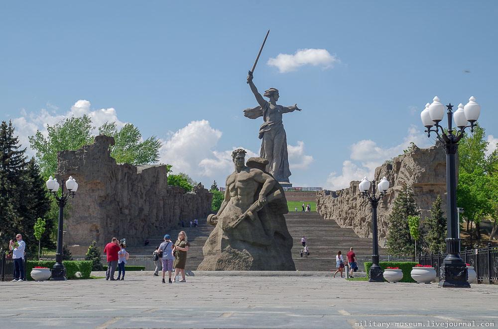 Мамаев курган в Волгограде-16