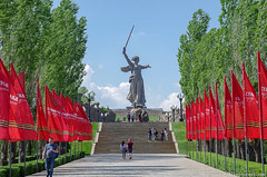 Мамаев курган в Волгограде-11
