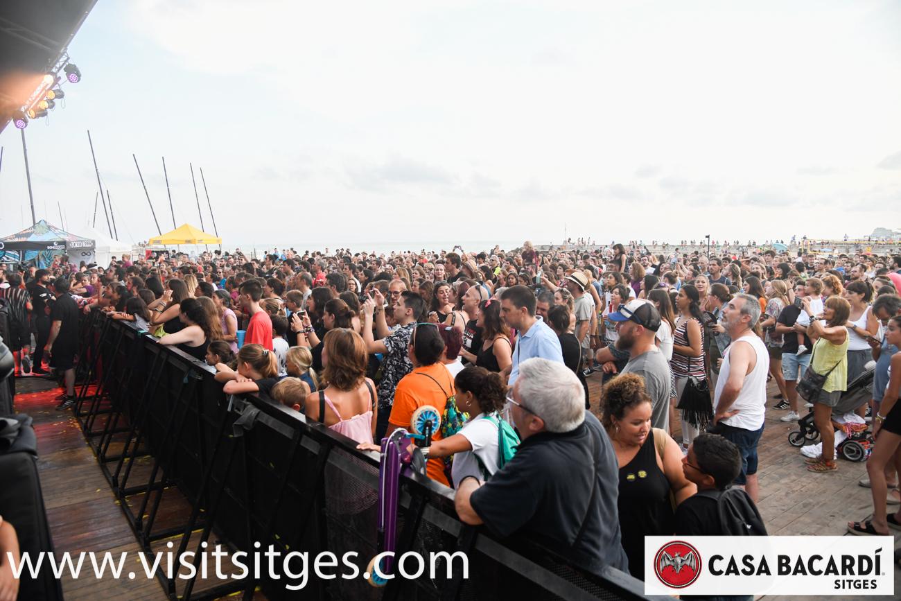 SEGON DIA DE LES BARRAQUES SITGES 2019