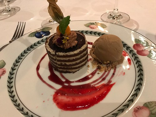 Dessert at El Tupay Restaurant. From History Comes Alive at the Belmond Hotel Monasterio in Cusco