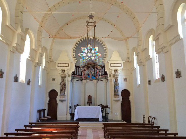 Eglise de la Villa Algérienne de l'Herbe
