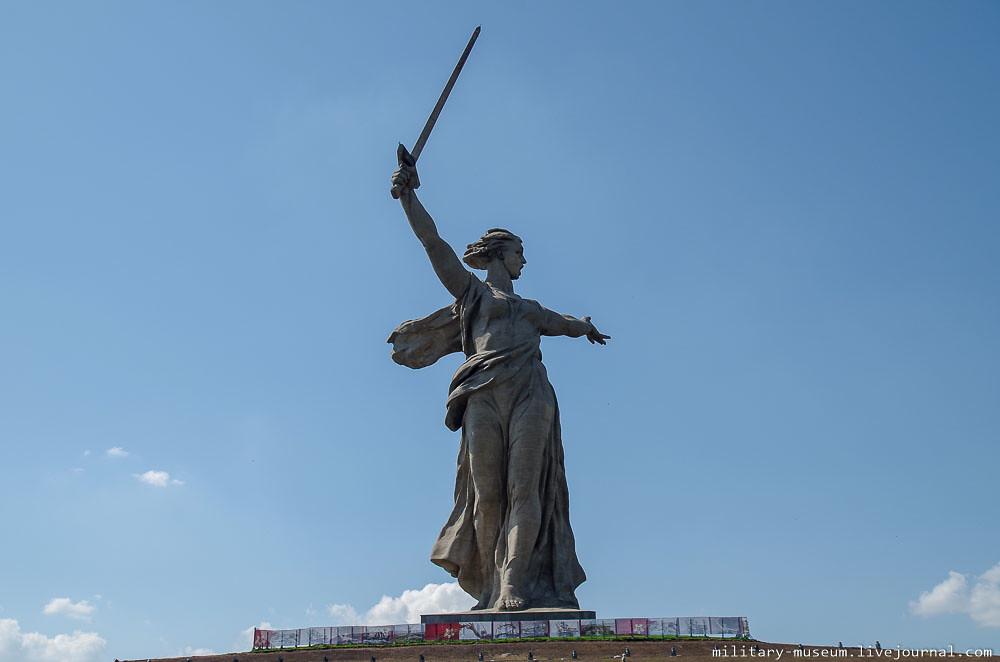 Мамаев курган в Волгограде-73