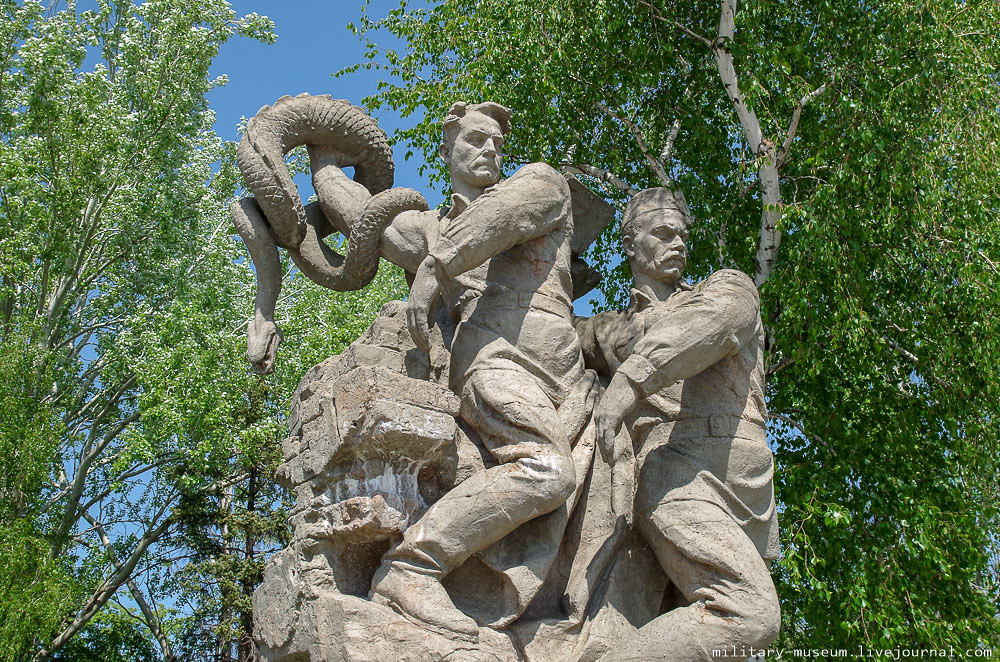 Мамаев курган в Волгограде-46