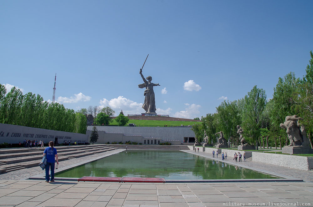 Мамаев курган в Волгограде-35