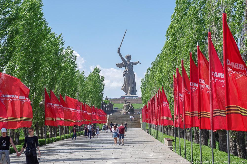 Мамаев курган в Волгограде-7