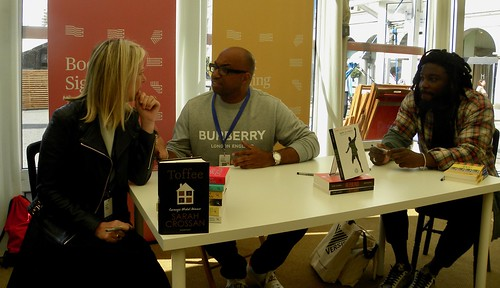 Sarah Crossan, Kwame Alexander and Jason Reynolds