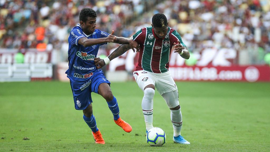 Fluminense x CSA  - 18/08/2019