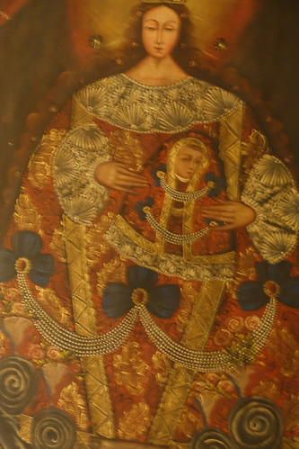 Belmond Monasterio Hotel Painting in Guestroom. From History Comes Alive at the Belmond Hotel Monasterio in Cusco