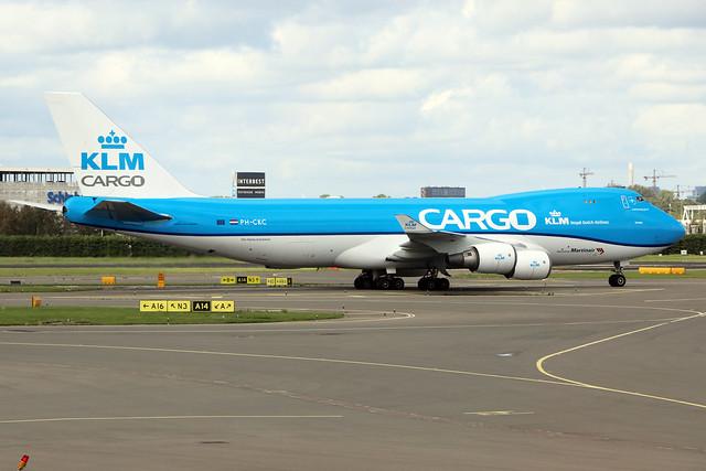 PH-CKC  -  Boeing 747-406F (ER)  -  KLM Cargo  -  AMS/EHAM 18/8/19