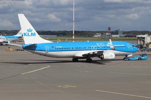 PH-BXB  -  Boeing 737-8K2 (WL)  -  KLM  -  AMS/EHAM 18/8/19