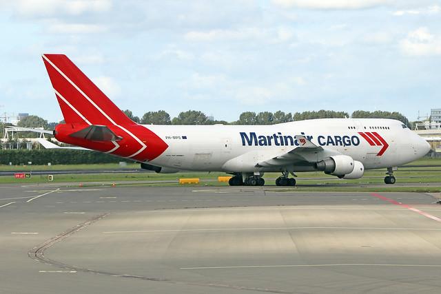PH-MPS  -  Boeing 747-412(BCF)  -  Martinair Cargo  -  AMS/EHAM 18/8/19