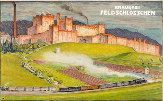 Brauerei-Feldschlösschen-1910