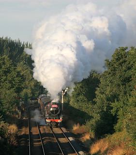 6201 Princess Elizabeth at Huyton 23.8.08