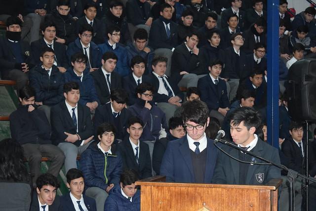 Misa Alumnos Fidelidad a Don Bosco Sede Norte