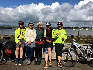 August 18, 2019: Hayling Island cycle ride