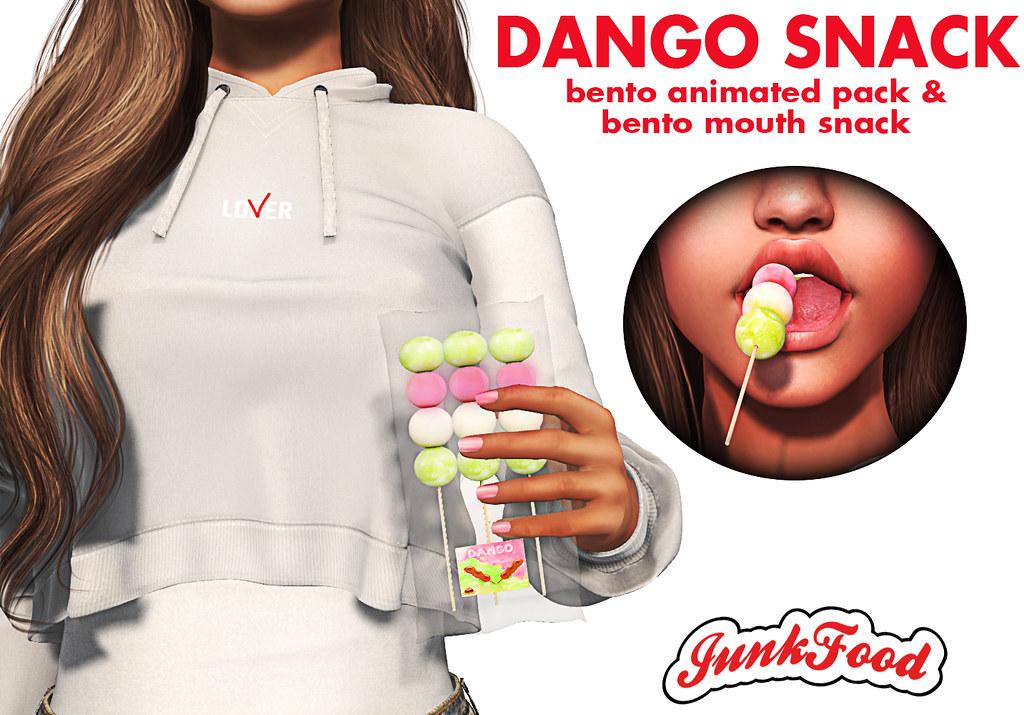 Junk Food - Dango Snack Ad - TeleportHub.com Live!