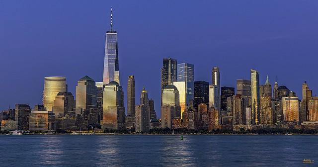 Lower Manhattan at the Golden Hour