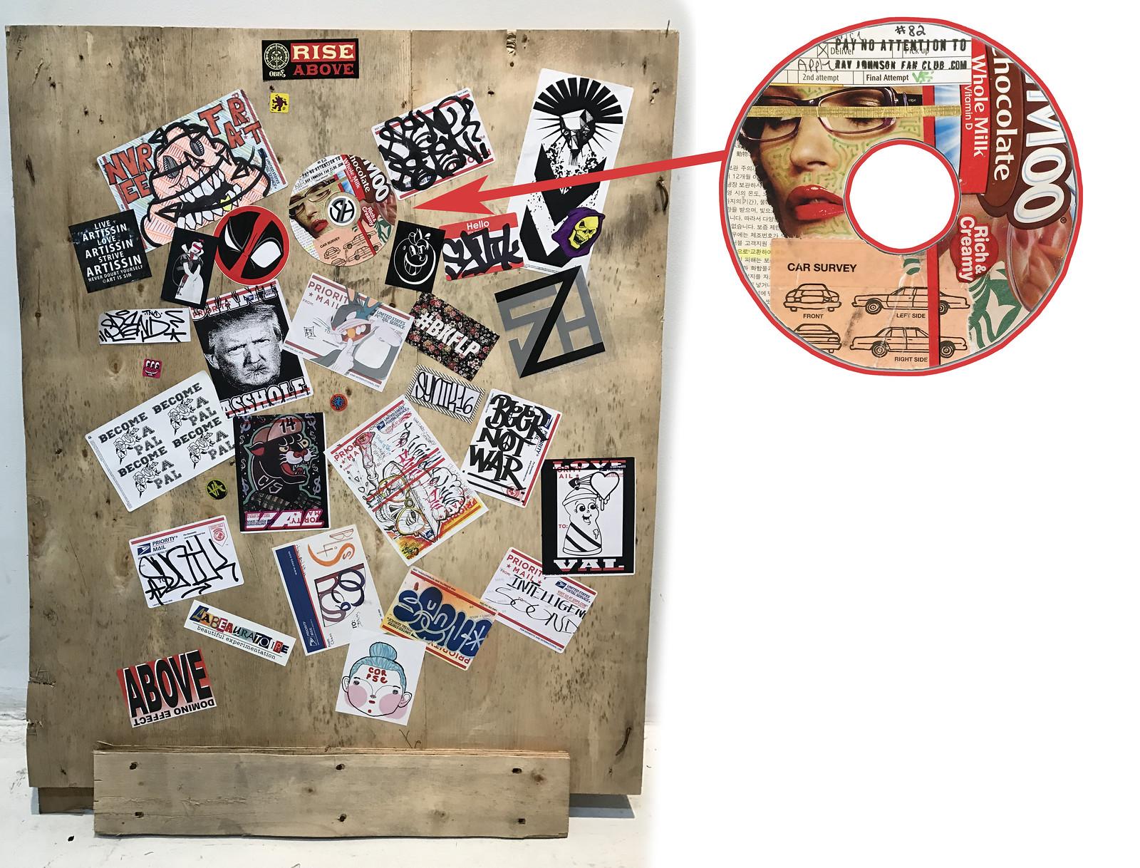 rjfc sticker # 82 left in Miami