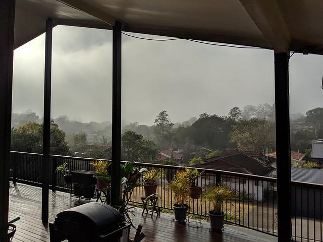 Foggy weather -------------- IMG_20190819_081015