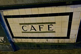 Cafe, London, UK
