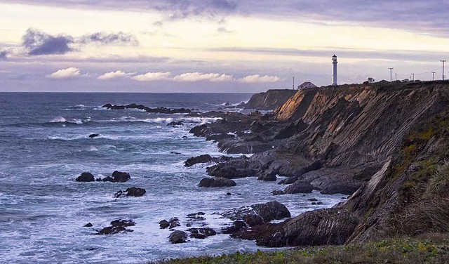 Point Arena Lighthouse & Bluffs, Northern California