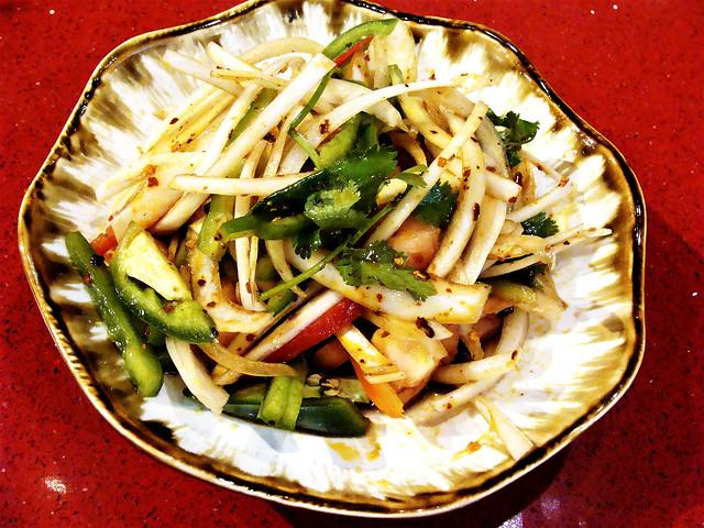 Uygur Tiger Salad