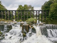 Trestle Bridge Over the Rabbit River