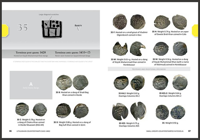 Lithuanian Counterstamps sample pages 86-87