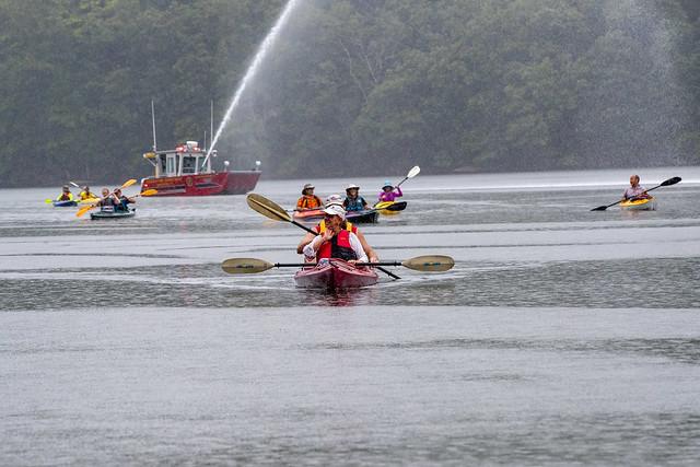 Senator Formica 2019-08-18 Kayak Regatta Waterford
