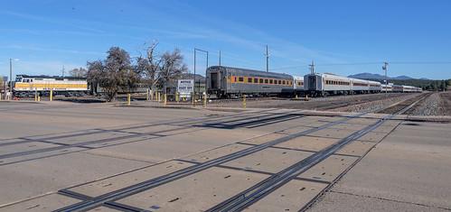 grandcanyonrailway grandcanyon railway railroad train trainride williams arizona az trainyard station