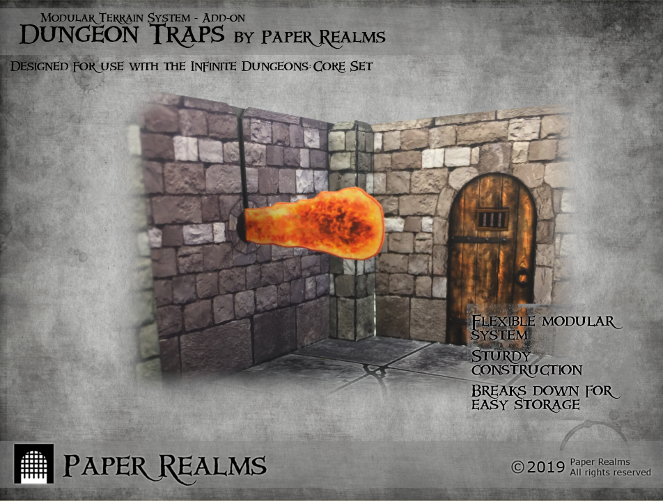 Dungeon Traps flame trap