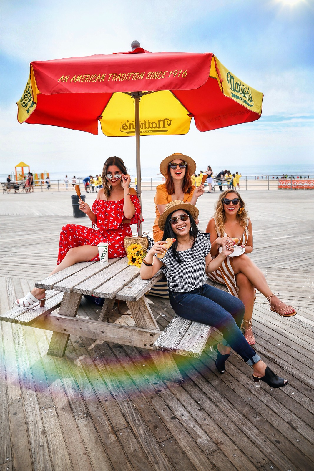 The Most Instagrammable Spots at Coney Island | The Most Instagrammable Places in Coney Island | Best Instagram Photos at Coney Island USA | Wonder Wheel Instagram Photos | Most Instagrammable Places in New York City NYC | Luna Park Pics | Amusement Park Photo Inspiration | Nathans Hot Dogs Coney Island