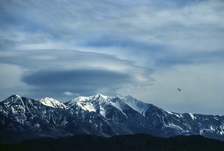 Mt. Nebo with lenticular cloud