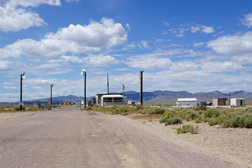 Area 51 Back Gate - Nevada State Route 375, aka the Extraterrestrial Highway, July 2019 | by JenniferHuber