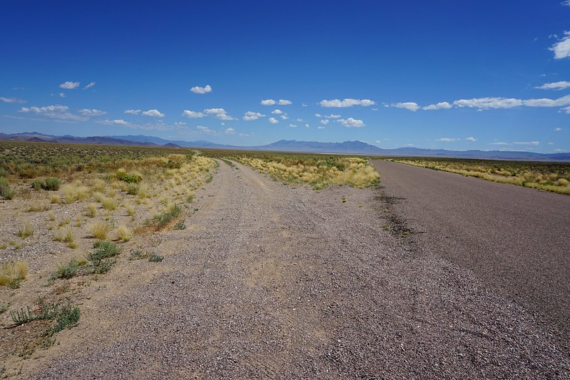 Near Area 51 Back Gate - Nevada State Route 375, aka the Extraterrestrial Highway, July 2019