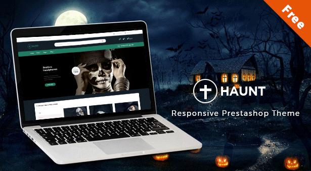 Ap Haunt - Halloween Accessory Prestashop Free eCommerce Themes